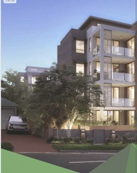 Green Hub Asquith under Construction 22 luxury Apartments & Penthouses